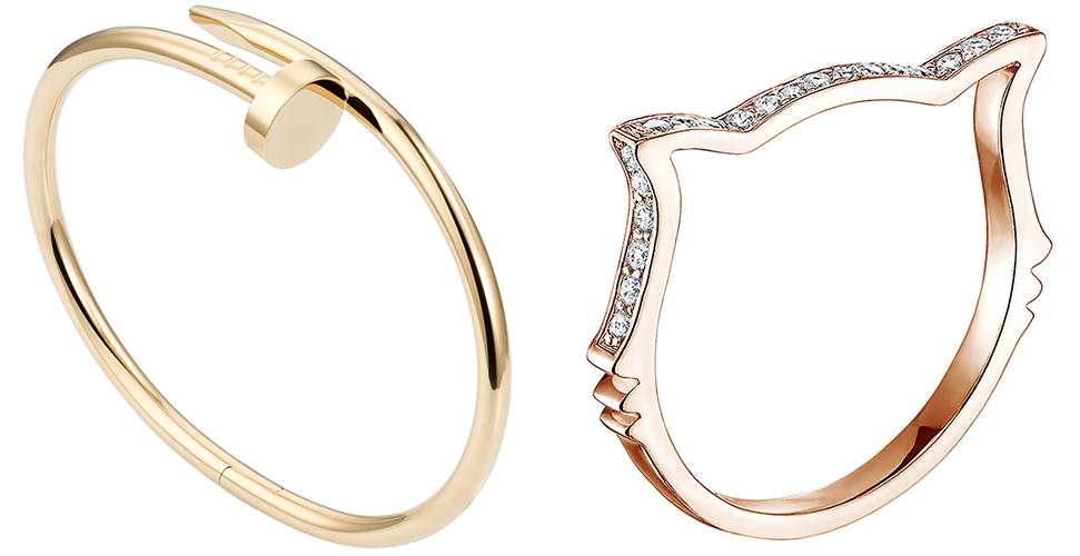 Bracelets Cartier et Gemmyo