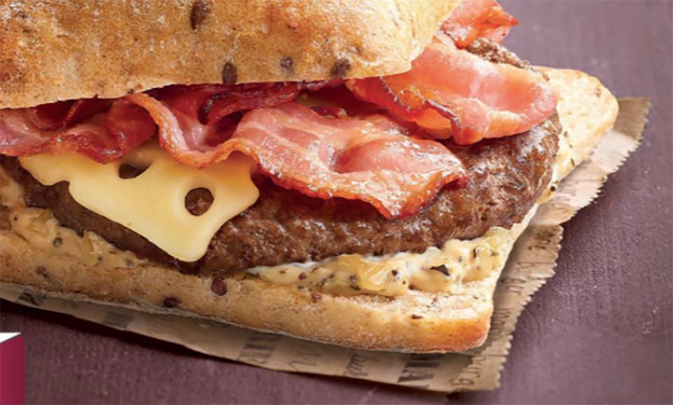 Le burger bacon