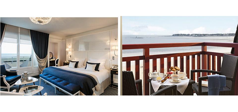 Chambre et terrasse