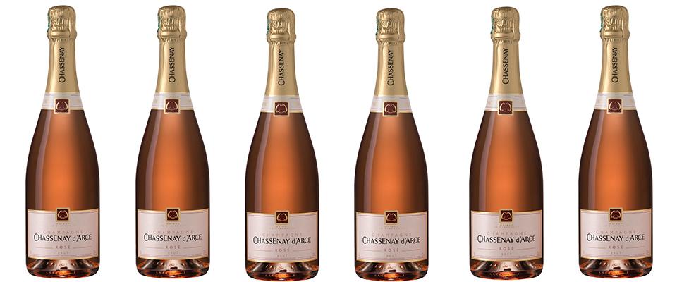 Champagne Chassenay d'Arce : Cuvée Rosé brut
