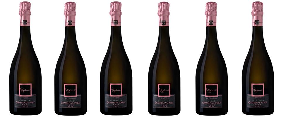 Champagne Chassenay d'Arce : Confidences Rosé brut 2009