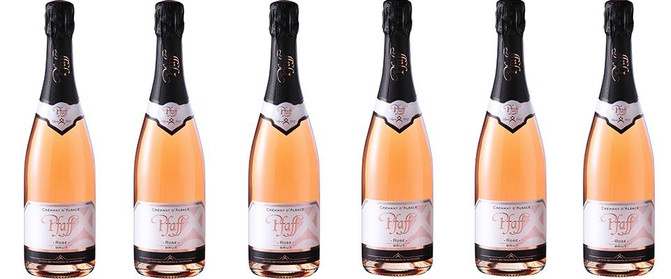 Crémant d'Alsace rosé brut Vignerons de Pfaffenheim
