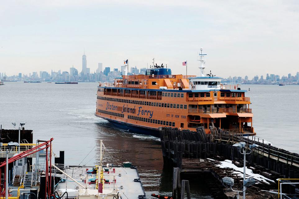 Staten Island Ferry, St. George, Staten Island