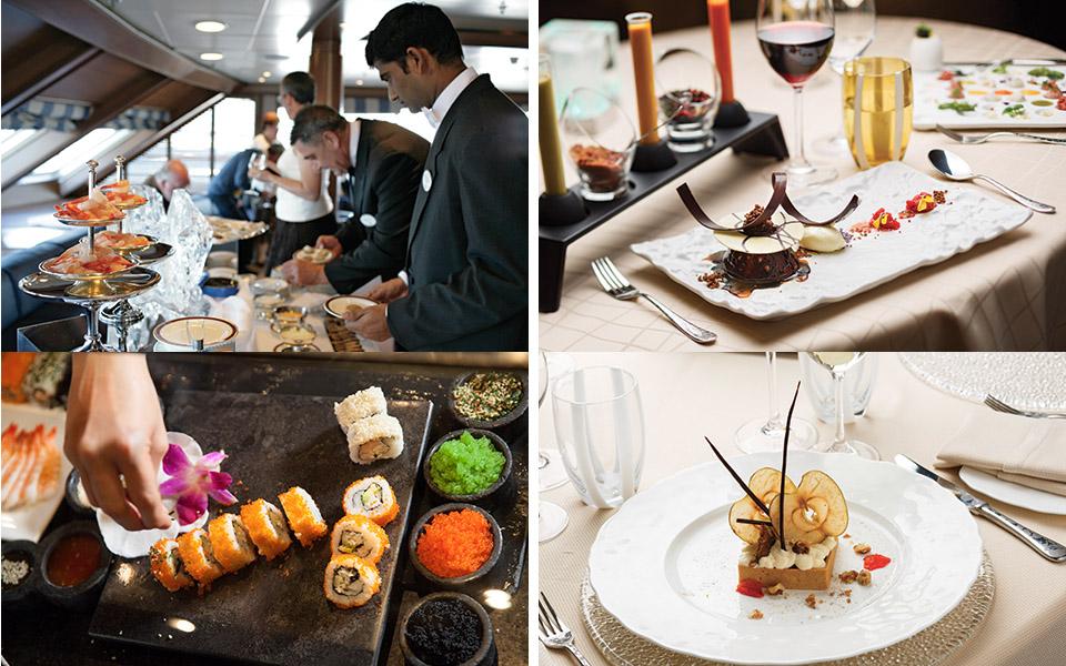 Gastronomie Silversea