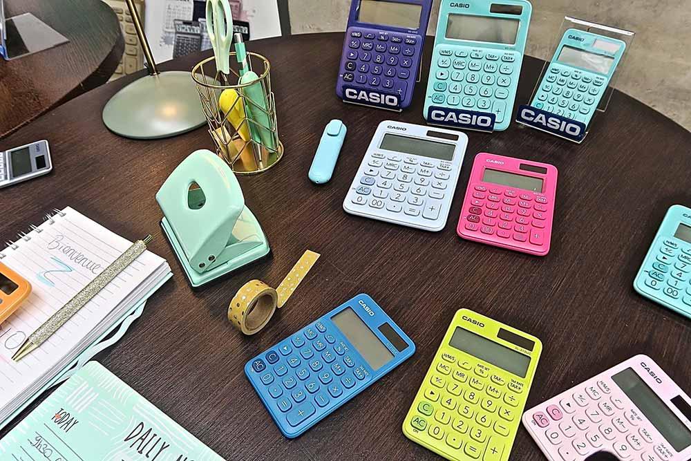 Calculettes Casio