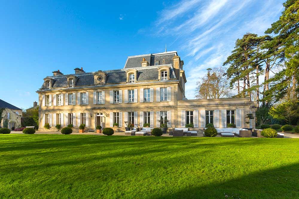 Château la Chenevière : un Manoir du XVIIIème siècle