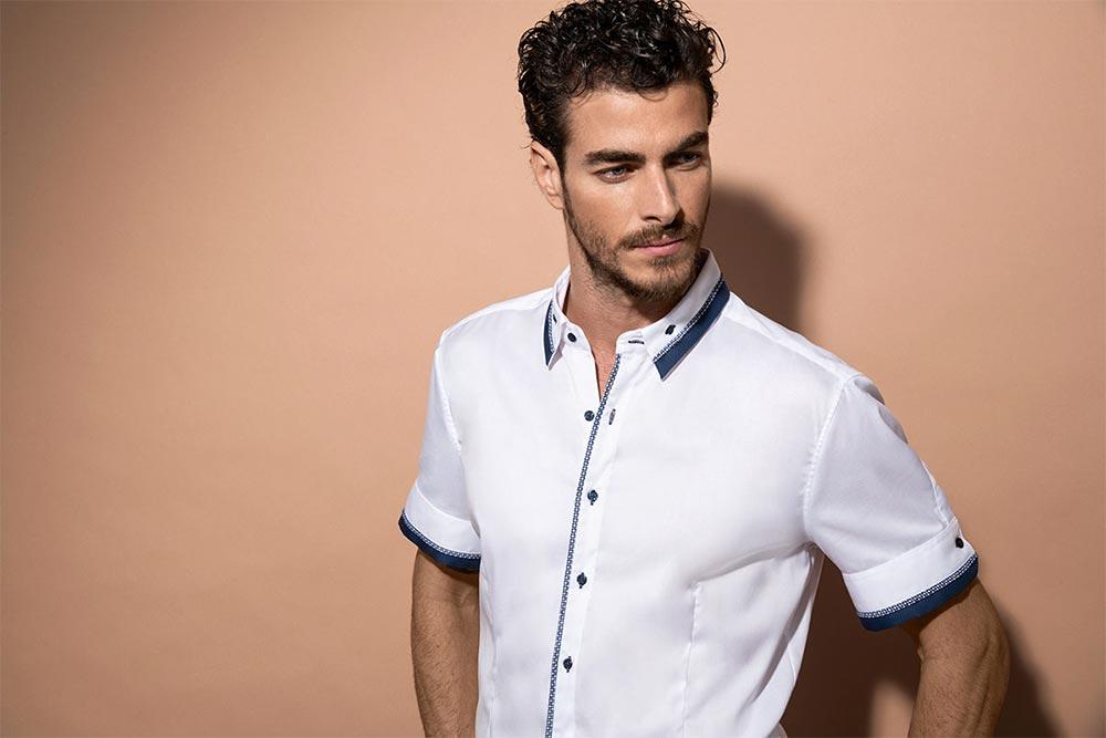 Chemise blanche homme Naracamicie