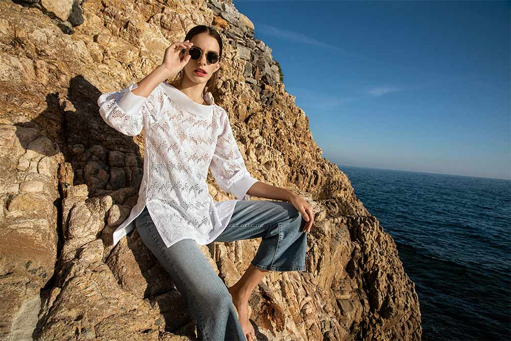 Chemise blanche femme Naracamicie