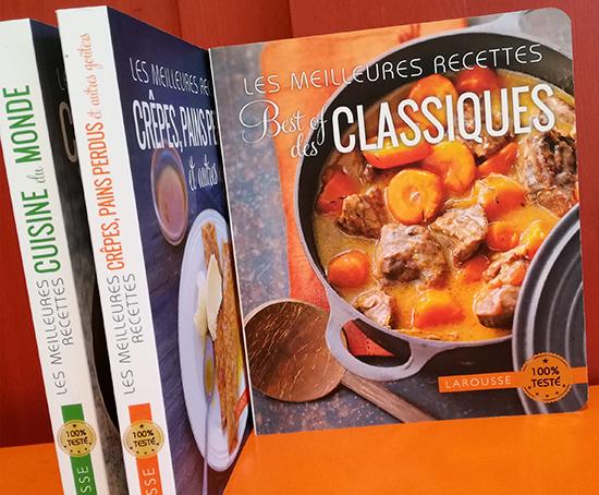 Editions larousse les meilleures recettes pour cuisiner au quotidien dynamic seniors - Edition larousse cuisine ...
