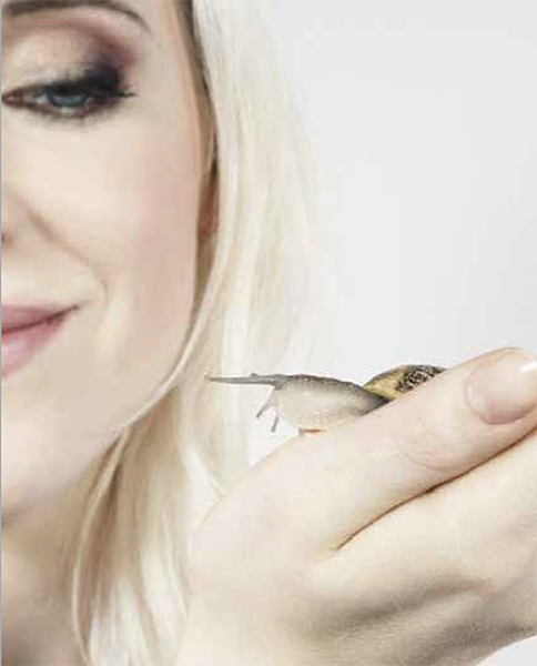 bave d'escargot
