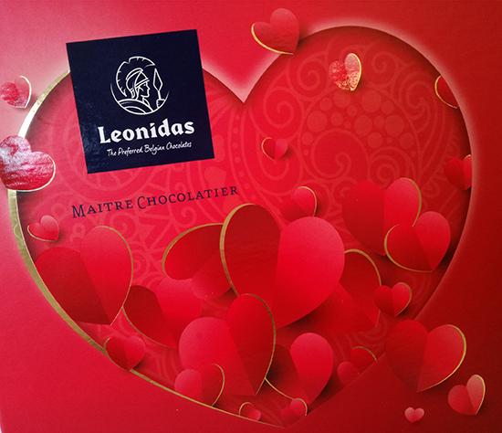 Leonidas joue résolument la carte du romantisme pour la Saint-Valentin 2018. Et propose des chocolats en forme de cœurs, déclinés en trois saveurs.