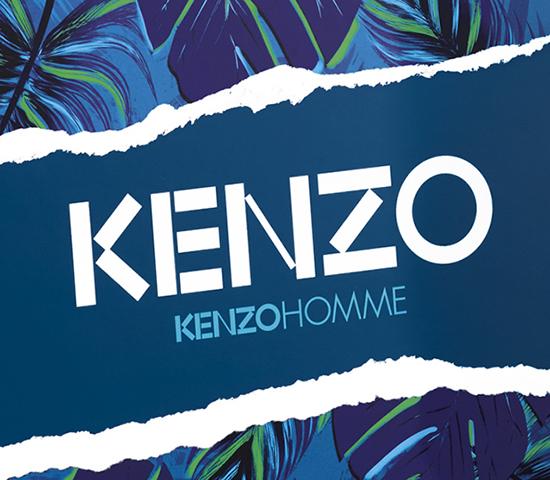 Parfum de créateur reconnaissable entre tous, parfum précurseur, unique et intemporel, Kenzo Homme se décline pour la Fête des Pères en coffret.