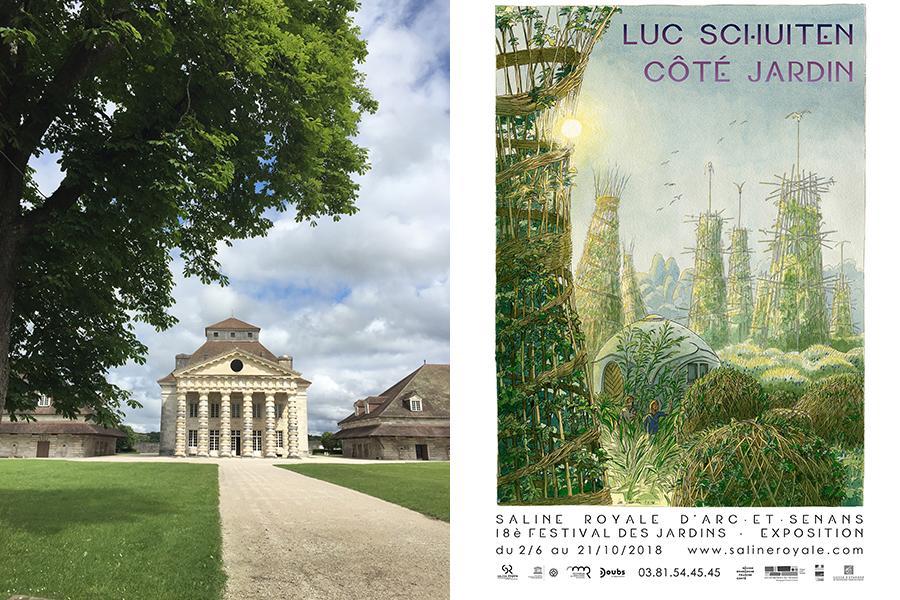 18ème festival des jardins à la Saline Royale d'Arc-et-Senans