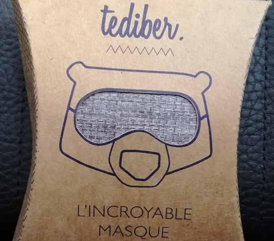 La start-up française Tediber a lancé L'Incroyable Masque, un masque spécialement étudié pour des nuits ou des siestes réparatrices.