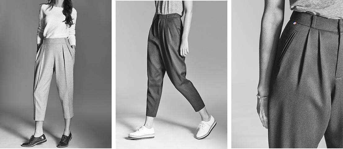 Les pantalons à la fois élégants et décontractés de Marine Escurat