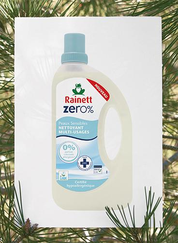 Le nettoyant multi-usagesZéro%