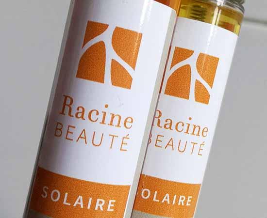 Huile solaire, Sérum, Soin cheveux sans rinçage et Bain lavant après-soleil composent la nouvelle gamme de soins capillaires spécial Soleil Racine Beauté.