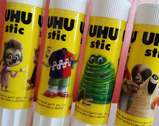 UHU a sorti une collection aux couleurs des héros de du film d'animation Hôtel Transylvanie 3.