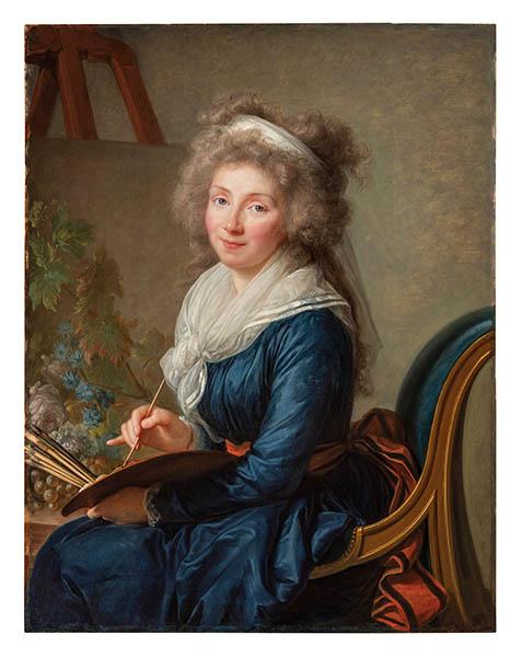 Vigée Le Brun, Portrait de la marquise Grollier