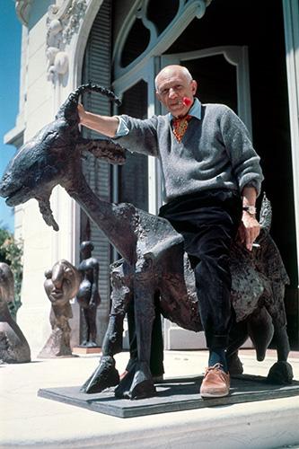Picasso et La chèvre