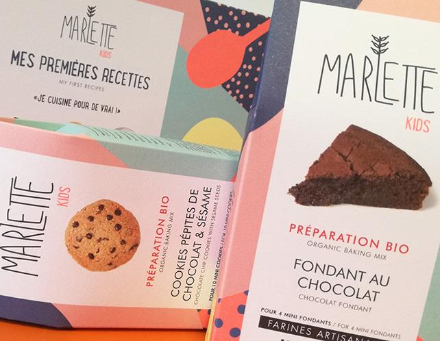 La marque de préparation bio pour gâteaux Marlette a lancé Mes Premières Recettes, son premier coffret pour les kids !