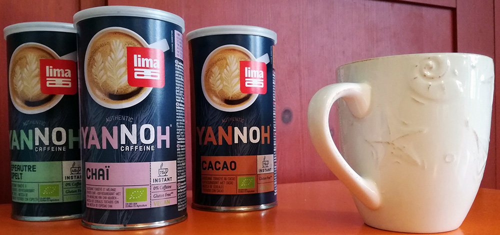Yannoh Instant : Cacao, Chaï et Epeautre, des boissons naturelles 100% bio
