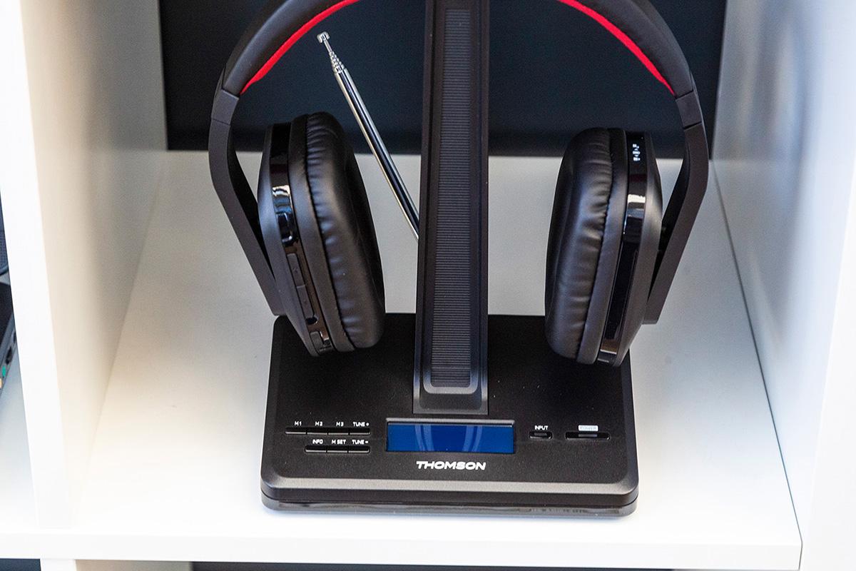 Casque sans fil avec radio numérique DAB -WHP5407