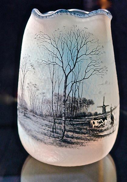 Vase au paysage hollandais - Circa 1900 - @F.lebel