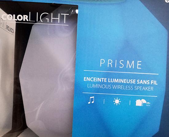 Pour mettre la musique en lumière, ColorBlock propose ColorLight, des lampes-enceintes au design profilé, à utiliser à l'intérieur comme à l'extérieur.