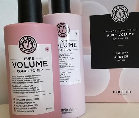 Pour les fêtes de Noël, Maria Nila a imaginé six coffrets Head and Hair (shampooing, après-shampooing et gel lavant mains) pour chaque type de cheveux.