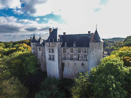 Château de St Brisson sur Loire