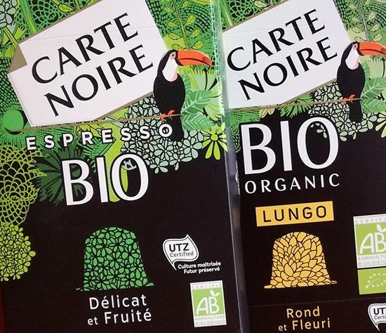 Carte Noire répond à toutes les attentes avec sa gamme complète Bio.