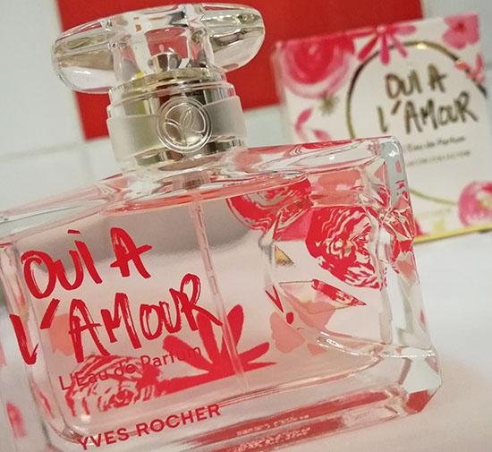 Le parfum Oui à l'Amour d'Yves Rocher se décline en édition collector.