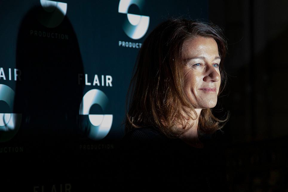Carole Gaessler, journaliste, animatrice à la télévision.