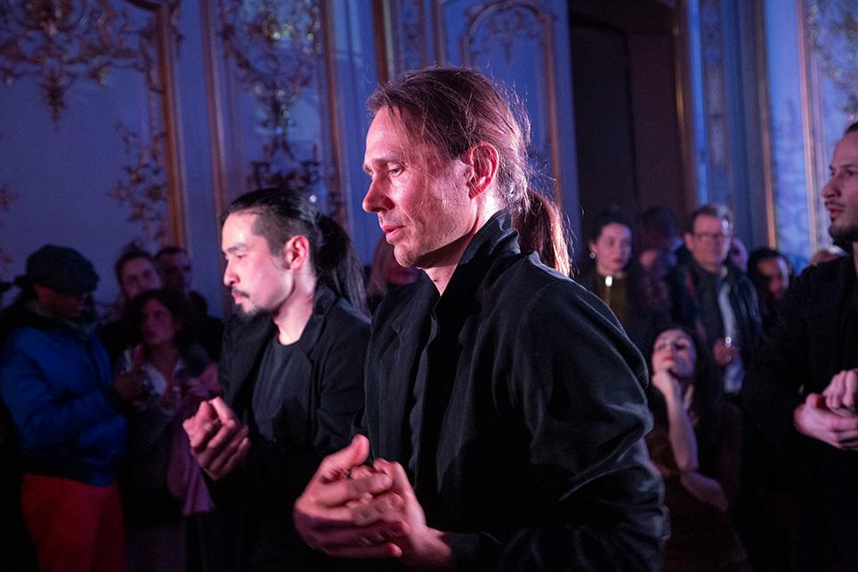 Les danseurs de la compagnie ont offert un très beau et très émouvant spectacle.