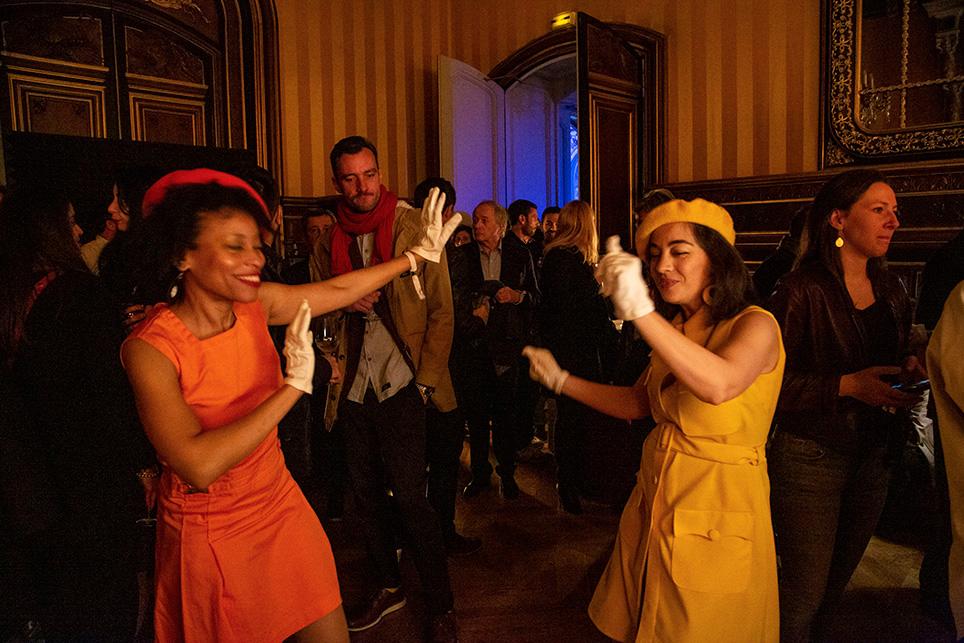 Petit retour en arrière pour les danseuses jazz rétro!