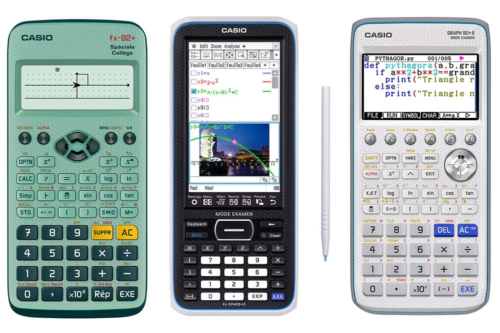 Calculatrices Scolaires Casio