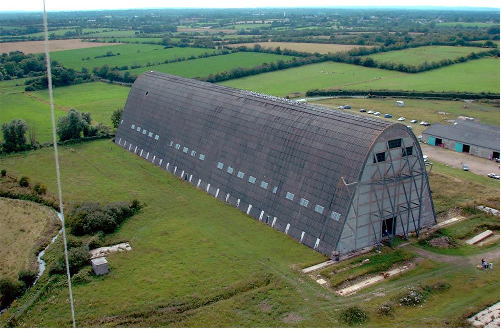 Hangar à dirigeables Ecausseville