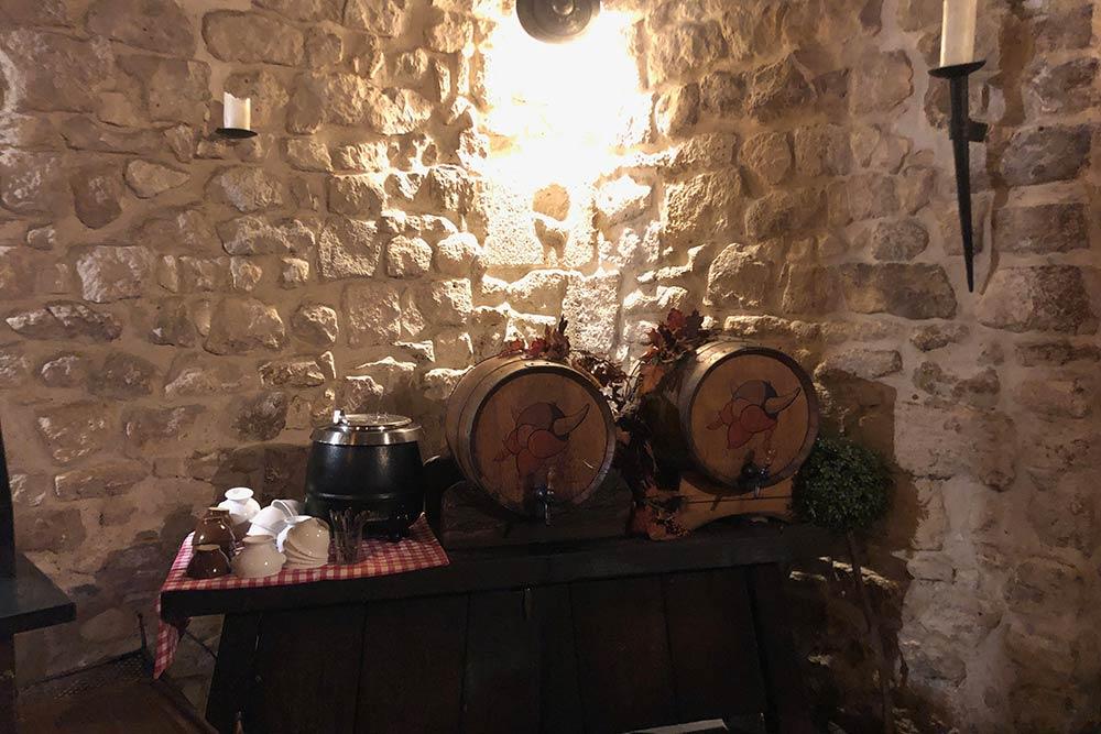 Les tonneaux de vins