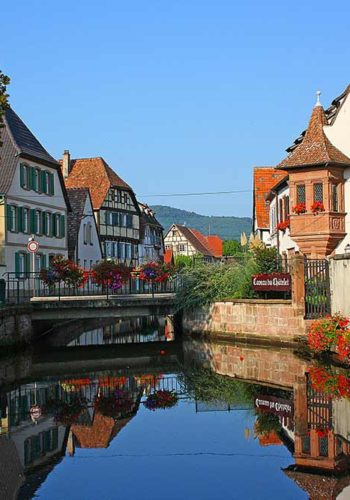 Superbes maisons Alsaciennes