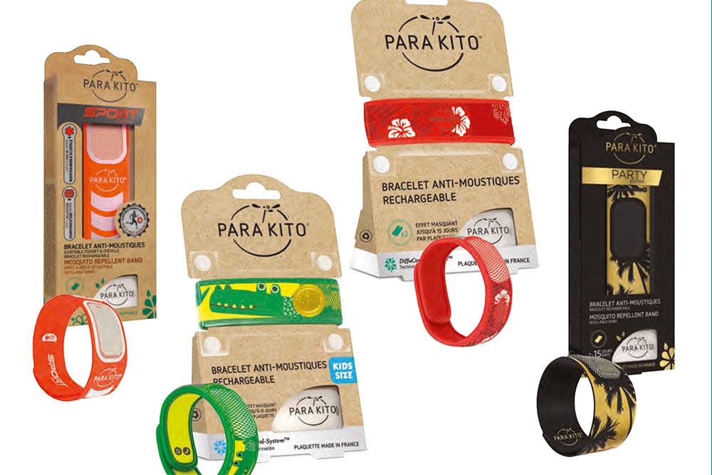 Bracelets anti-moustique