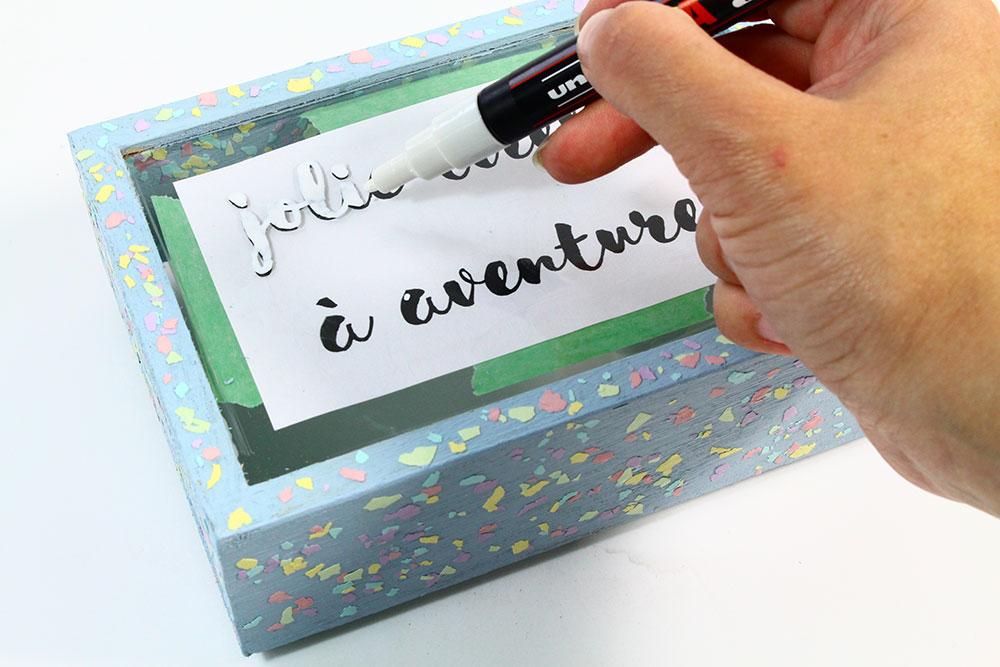 Étape 5 : Ecrire le message