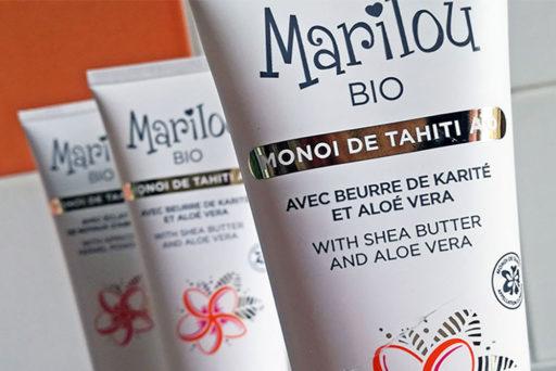 Marilou Bio : une gamme au Monoï de Tahiti pour le corps et les cheveux