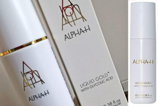 """Alpha-H : Liquid Gold, un peeling à l'acide glycolique """"sans rinçage"""""""