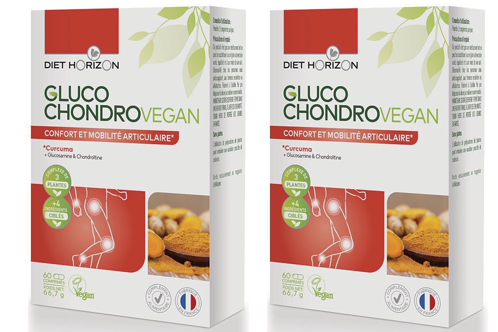 Gluco Chondro Vegan – Confort et mobilité articulaire