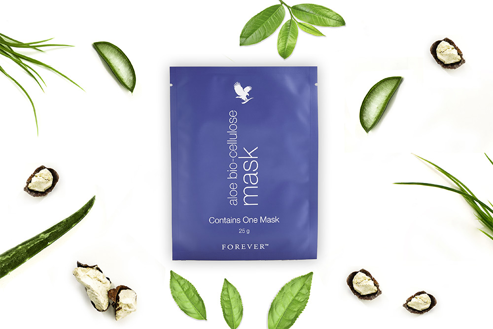 Forever Living Products : masque à l'aloe vera