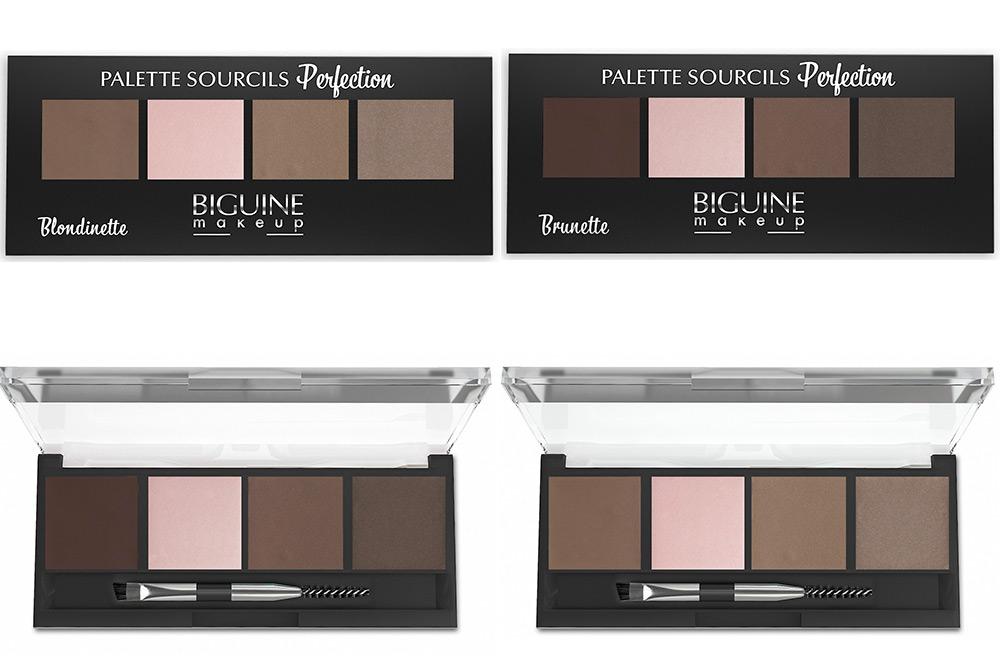 Palettes de sourcils Biguine Make-up