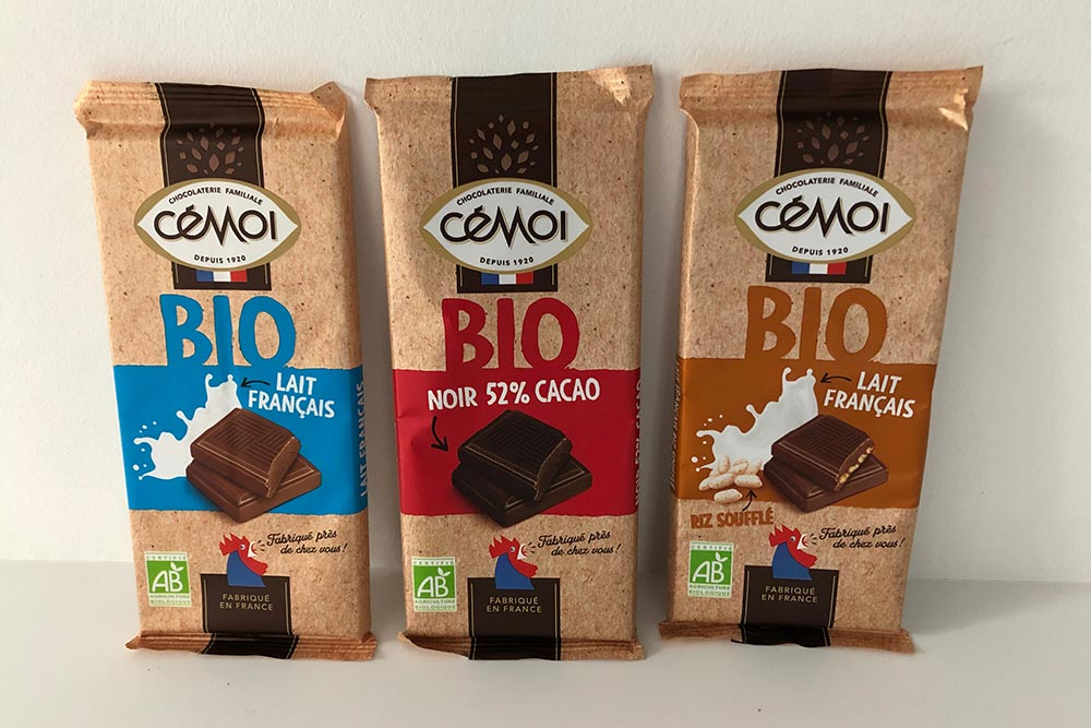 Chocolats Bio Cémoi