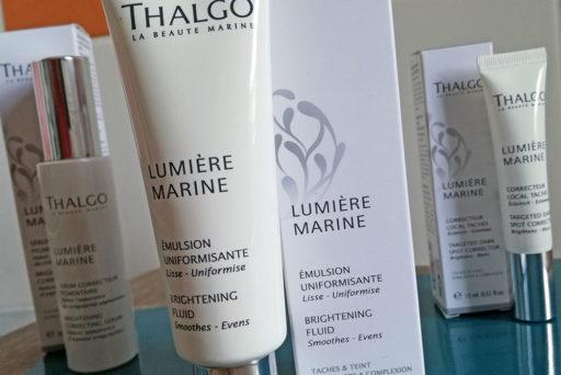 Thalgo a créé Lumière Marine, une gamme anti-taches.