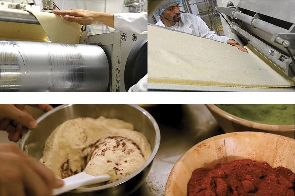 Fabrication des pâtes